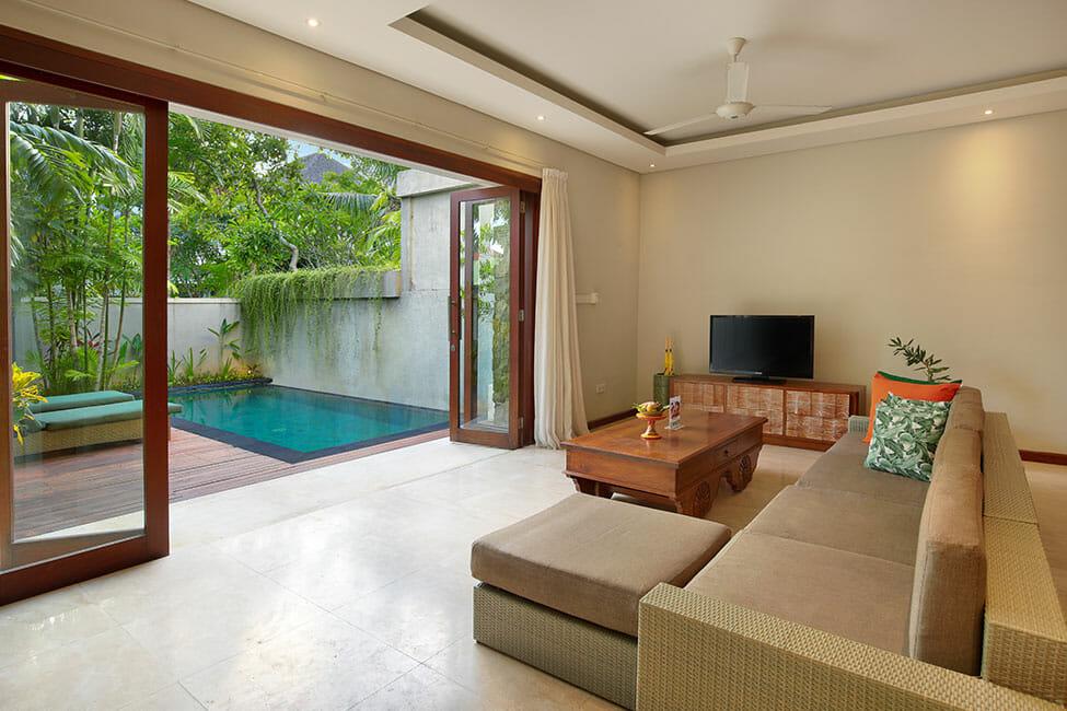 Most Spacious Signature Villa At Kampoeng Villa Kerobokan Bali